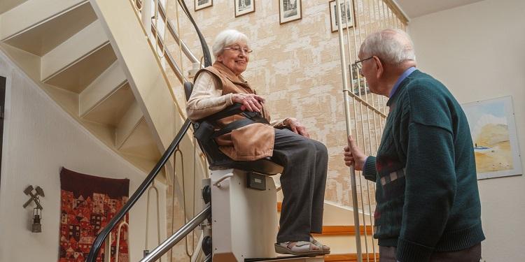 monte-escalier pour les handicapés
